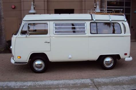 1970 volkswagen vanagon sell used 1970 vw westfalia cer excellent condition