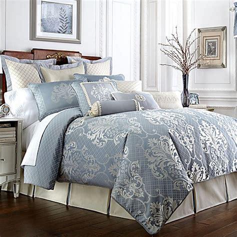 waterford 174 linens newbridge reversible comforter set bed bath beyond - Waterford Comforter Sets