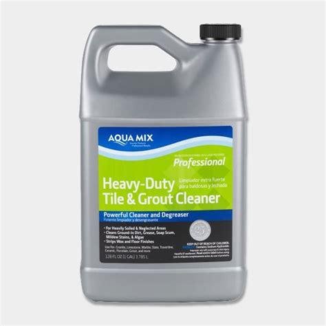 aqua mix heavy duty tile grout cleaner gallon