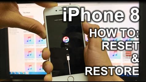 how to refurbish a how to reset restore your apple iphone 8 factory reset