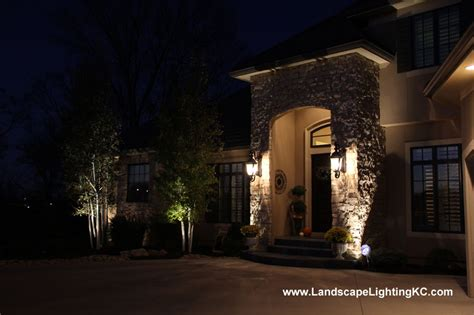 landscape outdoor lighting in kansas city mo led lights