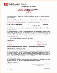 sample construction bid proposal letter tolgjcmanagementco With estimate letter for construction