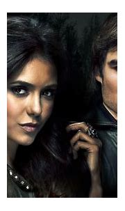 Stefan Salvatore Elena Gilbert Damon Salvatore In Black ...