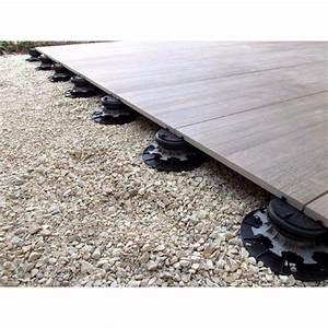 Dalle Sur Plots : dalle sur plot terrasse autonivelant 95 155 mm ~ Farleysfitness.com Idées de Décoration