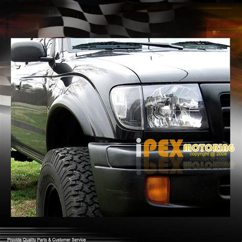 1998 toyota tacoma tail lights 1998 2000 toyota tacoma 4wd black headlight w corner