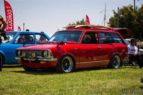 toyota corolla deluxe four wheels with a motor toyota cars and jdm