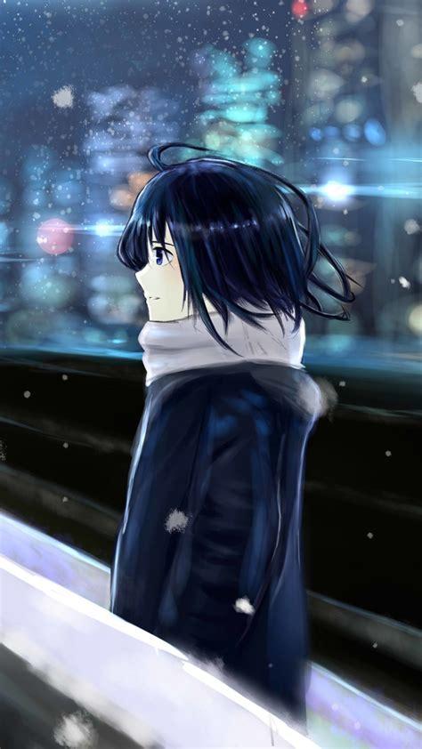 Anime Girl Rain Wallpaper Alone Girl In Rain Images
