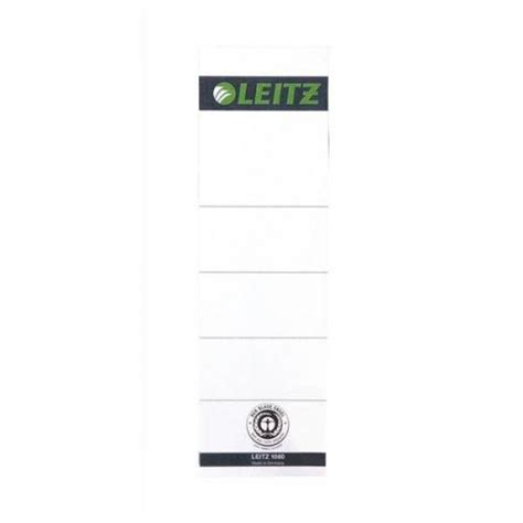 Insertable Spine Labels For Standard 3 Binders Leitz Replacement Spine Labels Pack Of 10 For Pvc Lever