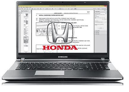 honda accord workshop repair service manual