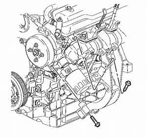 2004 Buick Rendezvous Alternator