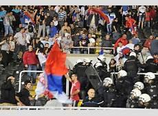 Serbia – Albania 14102014 Euro '16 – Match Abandoned