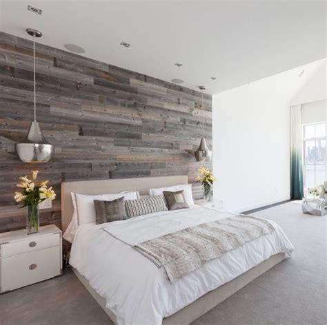 hoboken master bedroom design  reclaimed wood feature