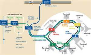 JFK Airport Parking Map