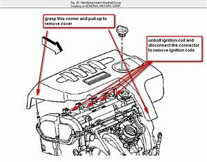 How Do I Get To The Spark Plugs In My 2006 Chevy Cobalt 2 2 Liter Engine