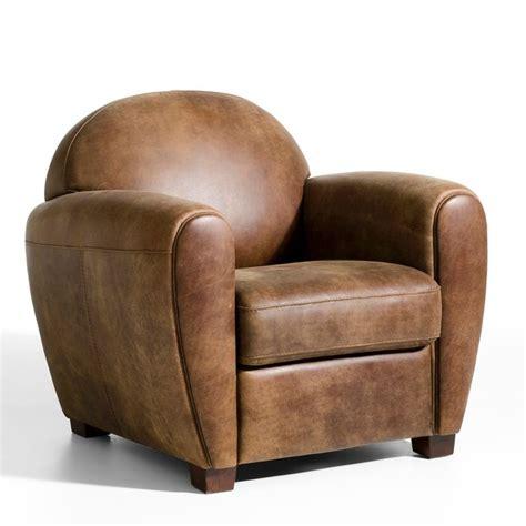 refaire canapé cuir fauteuil cuir veilli barnaby marron cuir vieilli am pm