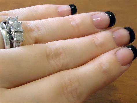 diy perfect french tip manicure  home