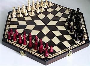 Schachspiel Holz Edel : schach schachspiel f r drei 40 x 35 cm holz ebay ~ Watch28wear.com Haus und Dekorationen