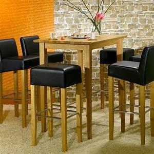 Bartisch Set Günstig : bartisch set 5 teilig 1 bartisch 4 barhocker schwarz buche lennard lea ebay ~ Markanthonyermac.com Haus und Dekorationen