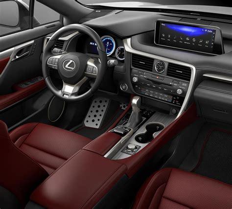 lexus rx red interior ultra white 2017 lexus rx 350 f sport alexandria