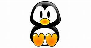 Cartoon Baby Penguin Cutout | Zazzle.com