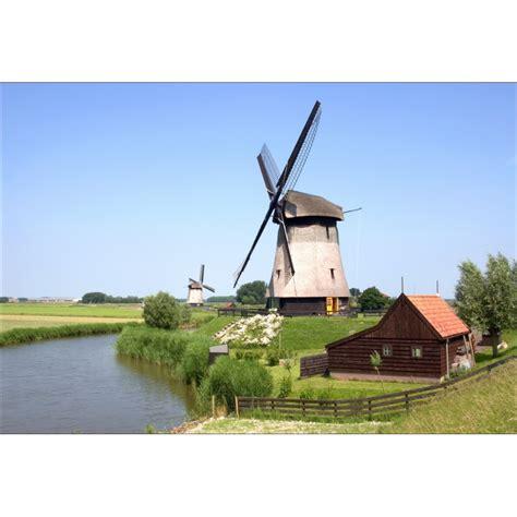 papier peint g 233 ant d 233 co moulin 224 vent 250x360cm d 233 co