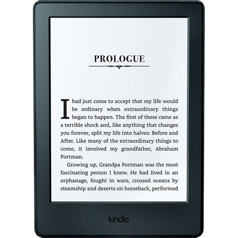eBook Reader New Kindle Glare 6, Touch Screen, 8th