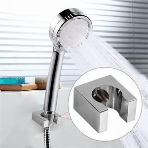 Ashata, Solild, Copper, Fixed, Handheld, Shower, Spray, Head, Holder, Bracket, Wall, Mount, For, Bathroom