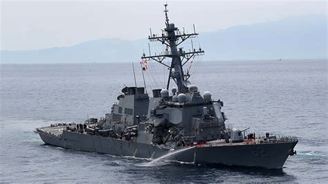 Ship Collision by Us Navy Ship Collision Youtube