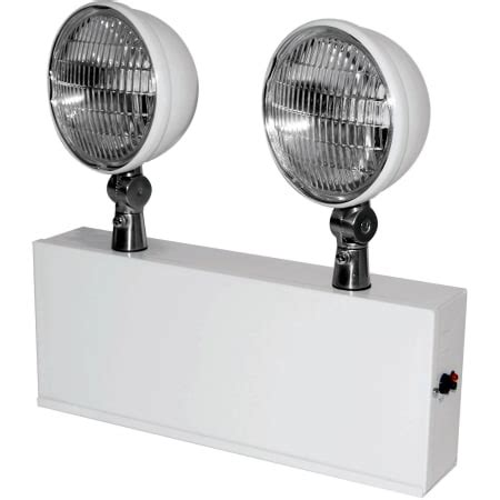 lithonia lighting eltc627 m4 white 2 light emergency wall