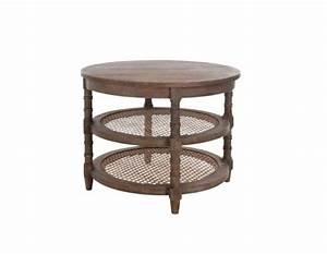Table Ronde De Salon : table basse ronde en bois c rus jolipa ~ Teatrodelosmanantiales.com Idées de Décoration