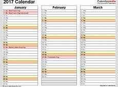 Fiscal Year Calendar 2016 2017 Printable Calendar