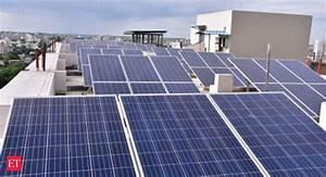Solar plants await clarity on GST rate - The Economic Times