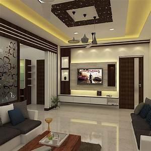 Living, Room, Duplex, House, Interior, Design, In, India