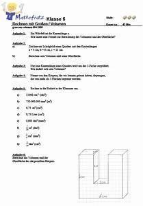 Volumen Quader Berechnen : beste mathe arbeitsblatt f r klasse 5 zeitgen ssisch super lehrer arbeitsbl tter ~ Themetempest.com Abrechnung