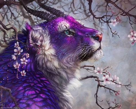 magical creature fantasy creatures fantasy art