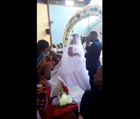 Married Man Caught, Humiliated on the alter as he tries to ...