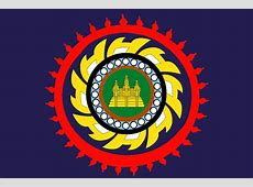 Flag of the Khmer Empire Celestial Ascendance