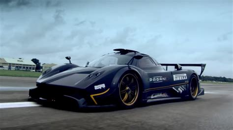 Pagani Zonda R Test Drive On Top Gear