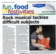 Rock musical tackles difficult subjects|News | The Lyric ...