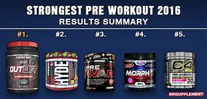 What Is The Strongest Pre Workout On The Market