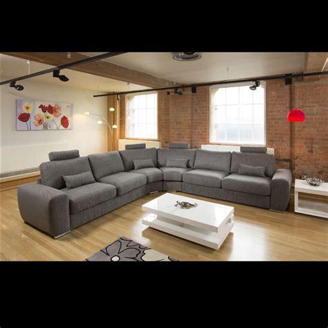 Large Corner Settee by Large Modern L Shape Quality Sofa Settee Corner