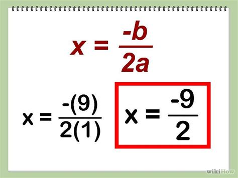 How To Find A by Find The Vertex Of A Quadratic Equation A Algebra