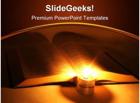 bible religion powerpoint template   images