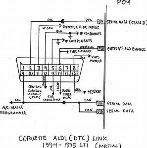 Data Link Connector Wiring Diagram