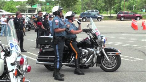 Police Motorcycle Skills Competition