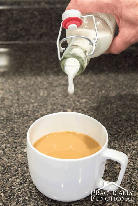 It's full of warm spices and real pumpkin—and 97% fewer calories than regular. Homemade French Vanilla Coffee Creamer Recipe