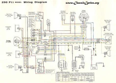 Wire Diagram 1975 Kz400 by Kawasaki Motorcycle Wiring Diagrams