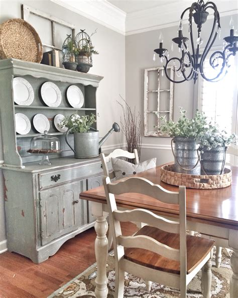 Country French Kitchens Decorating Idea - shabby chic dining room farmhouse style pinterest shabby chic dining shabby and corner
