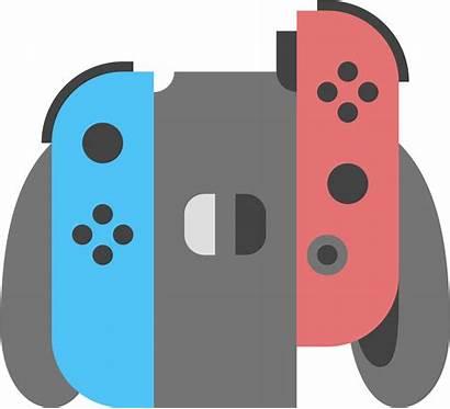 Controller Transparent Nintendo Clipart Switch Cartoon Xbox
