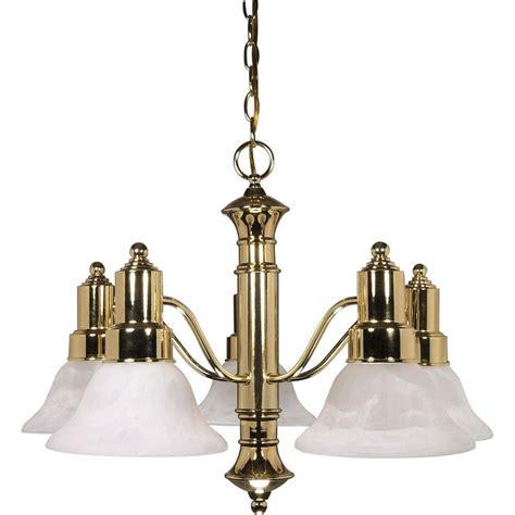 brass chandelier progress lighting americana collection 8 light polished